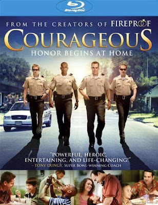 Courageous (2011) Blu Ray Rip 750 MB dvd cover, poster, Courageous blu ray dvd poster