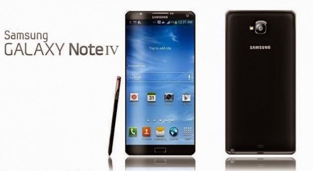 Harga dan spesifikasi Samsung Galaxy Note 4 terbaru dan Terupdate