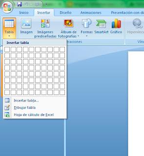 Insertar Tablas en PowerPoint