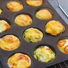 Resepi Ringkas Muffins Berlauk