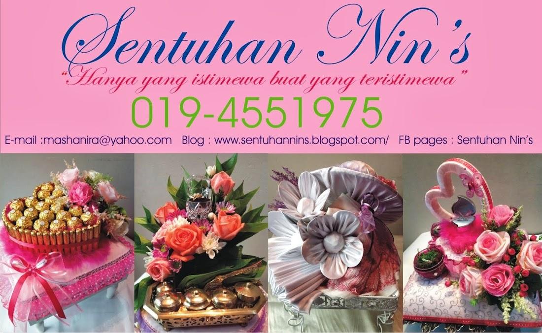 Sentuhan Nin's - Gubahan Hantaran Perkahwinan dan Pertunangan  Meru , Klang , Selangor KL