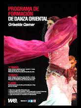Griselda Qamarقمر Programa Formación de Danza Oriental WE Fitness Club Granada 2012