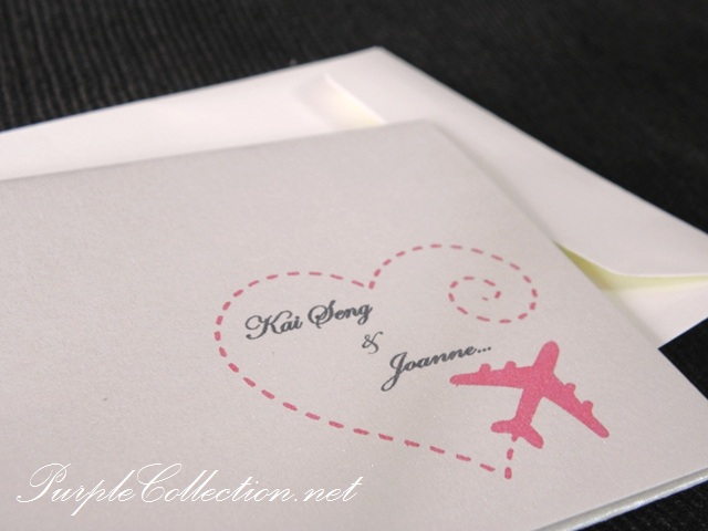 wedding card singapore by purplecollection