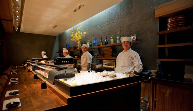 Restaurante Blue Ribbon Sushi em Nova York