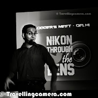 Few weeks back I saw a special email in my mail-box, which was an invite for a blogger meet by Nikon. I can't express how excited I was when I saw that email. I have been using Nikon equipments for a long time and a fan of classic Nikon shutter sound. Since it was Nikon and event was scheduled on a weekend, decision was easy - let's go and make best use of this opportunity to meet like minded folks from the industry.So on  19th October, I headed towards B-Bar which is located in Select City Walk mall at Saket, Delhi. It was easy to locate and event was planned to start at 1pm. As usual, the 'Delhi' blogger meet started at around 2pm as many of the blogger friends were wearing Delhi-Watch. But in the meantime, I got a chance to make  meet Rohan & Subir and also made few new blogger friends. During some of our conversation Mr Raghu Rai walked towards the lobby and we all were more excited to listen to him.Seeing Raghu Rai at the event made my day. It was great to learn from master Photographer of India. I have interacted with him in past as well but it was definitely a different experience where he had come to meet some of the selected set of bloggers from north India. After Raghu Rai's talk on photography, he also addressed some of the questions asked by audience in the hall. Raghu Rai has been using Nikon equipments, ever since he started photography and he mentioned about the mount of Nikon, which was new to me. It seems Nikon has been using same quality mount in their cameras, which was used in some of their initial SLRs (about 50 years ago). It sounded awesome. Imagine the quality level which Nikon achieved in old days and that still holds good till date. Raghu Rai shared some candid moments from his initial days into photography, when finding right cameras & lenses in India was not easy and he had to convince someone who is supposed to come to India from other countries where Nikon had good presence with wide variety of options. I can keep writing about this spe