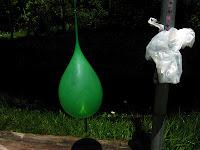 balon z wodą