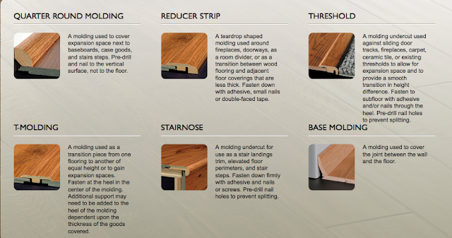 quarter round, reducer, threshold, t-molding, stairnose, baseboard, hardwood accessories, bob wagner's flooring america, middletown, downingtown, west chester
