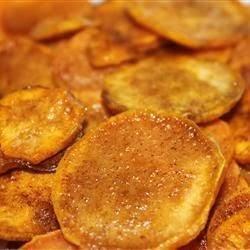 Cinnamon Sweet Potato Chips