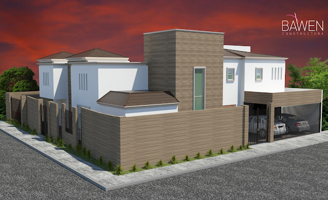 D3d Casa Residencial Campeche Bawen Constructora