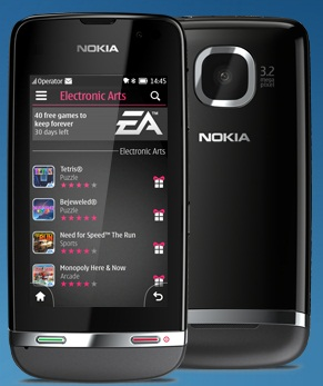 Nokia Asha 311 smartphone Technical Specifications and ...