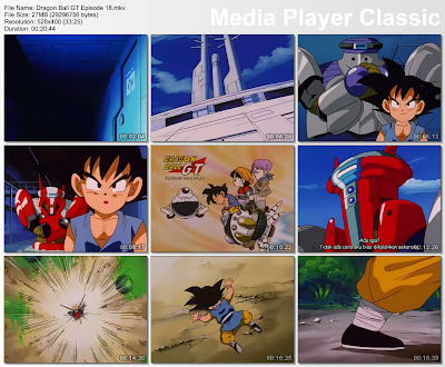 Download Film / Anime Dragon Ball GT Episode 18 Bahasa Indonesia