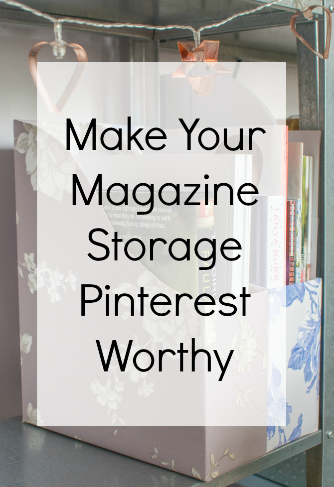 make your storage pinterest worthy