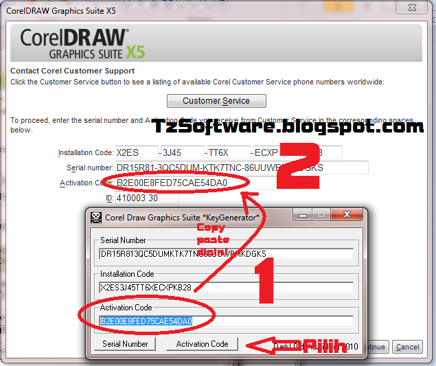 Corel draw x5 activation code and serial number, Free Download Software Ful