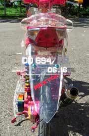 motor honda beat drag hasil modifikasi terbaru