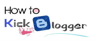 How To Kick Blogger Logo
