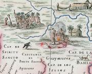 Capitanias HereditáriasBrasil 1639 (mapa brasil antigo )