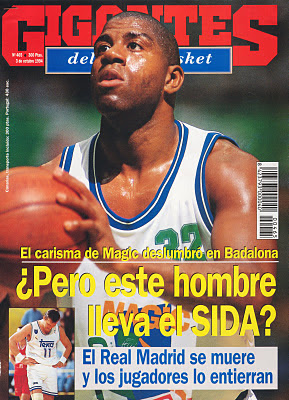 Portada Gigantes Visita Magic a Badalona 1994
