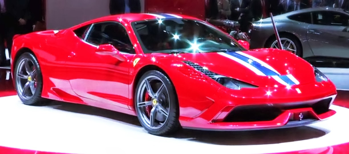 Ferrari 458 Speciale is special exotic supercar