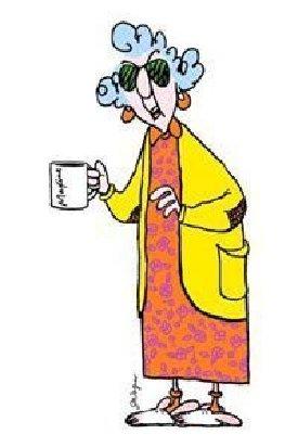Old Lady Cartoon Maxine