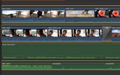 crear varias pistas Final Cut Pro X