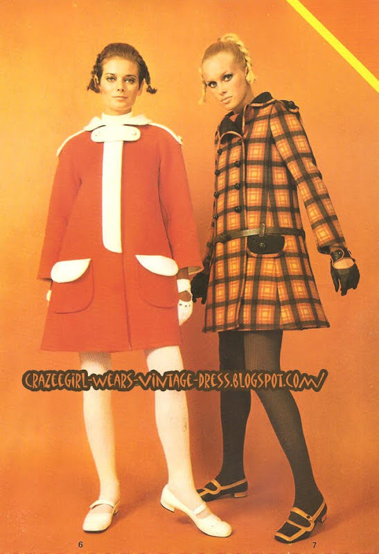 Emanuel Ungaro - dress coat - 1967 60s 1960