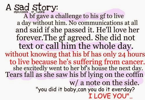 Short Sad Love Quotes : sad story about a girl whose sad story girl boy accident
