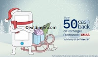 Recharges & Bill Payments Rs. 10 Cashback on Rs. 50 – PayTm
