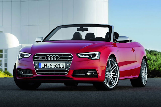2012 Audi S5 Cabriolet Front Exterior