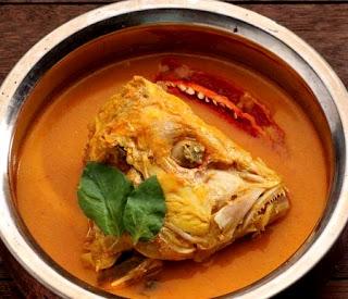 Resep Gulai Kepala Ikan Kakap Merah Bumbu Padang