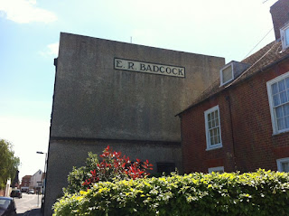 E.R.Badcock Furniture Depository building, Lymington, Hampshire