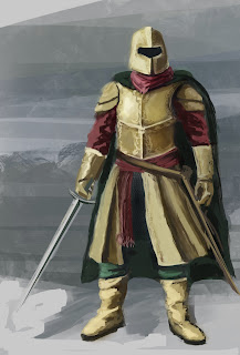 Knight character concept