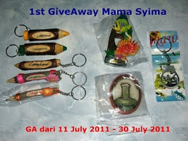 1st Giveway Mama Syima