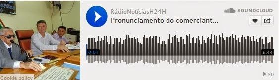 https://soundcloud.com/radionoticiash24h/pronunciamento-do-comerciante-gonzaga-biluca