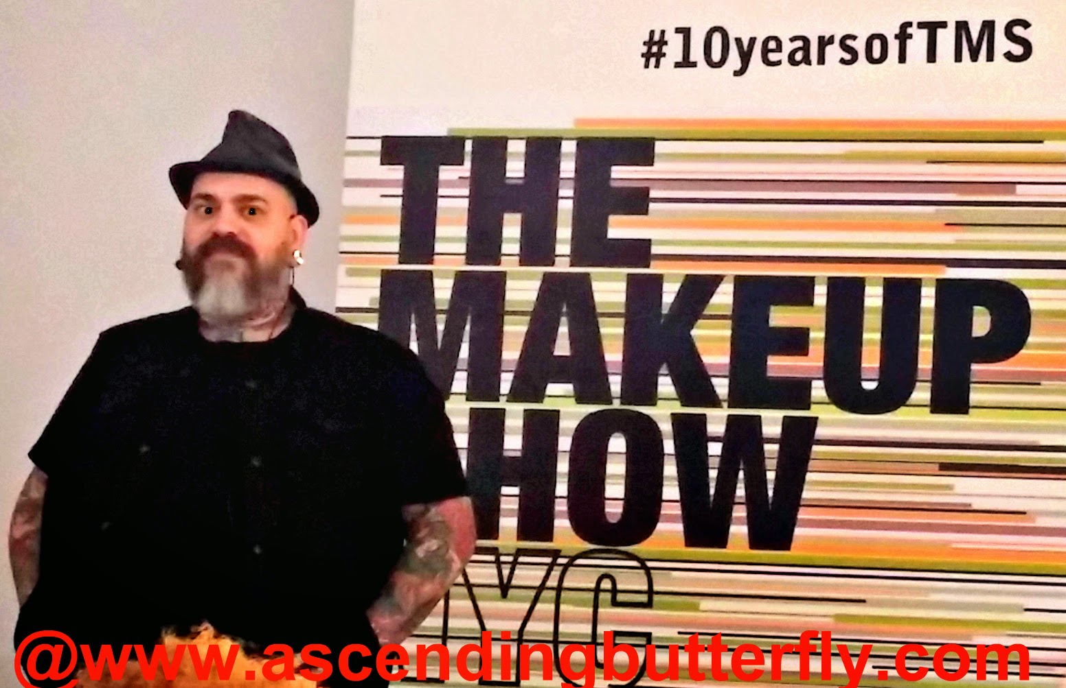 James Vincent hosts Blogger PreviewDay at The Makeup Show in honor of 10th Anniversary of The Makeup Show