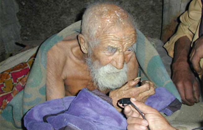 Sapateiro Indiano, Pessoa mais velha do mundo, homem mais velho do mundo