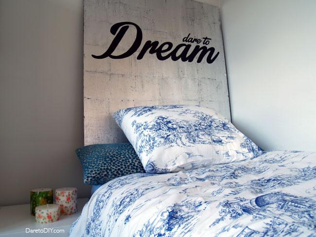 dare to diy redecora tu habitaci n con un cabecero diy