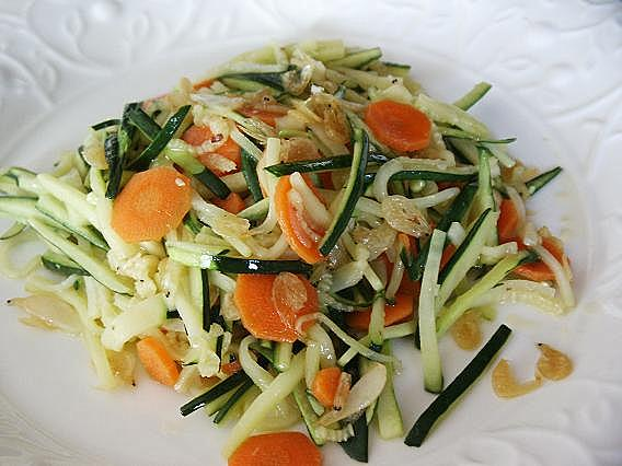 Little Corner of Mine: Stir Fried Zucchini with Dried Small Shrimps ...