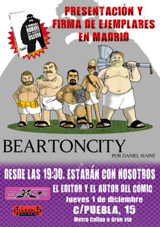 Presentación de Beartoncity en Madrid