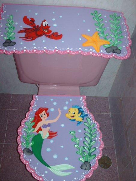 Juegos de baños con figuras - Imagui