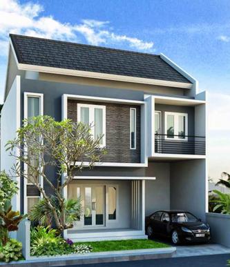 contoh desain rumah minimalis type 70 (1 dan 2 lantai