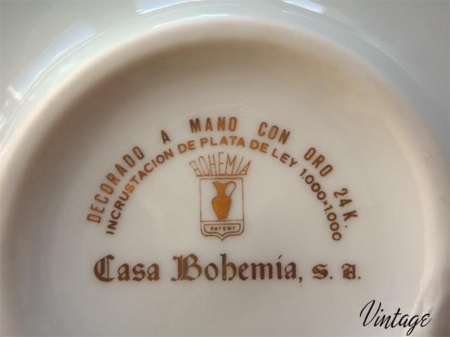 cenicero blanco Casa Bohemia, S.A.