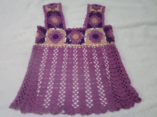 Vestidos Para Nina Tejido De Gancho