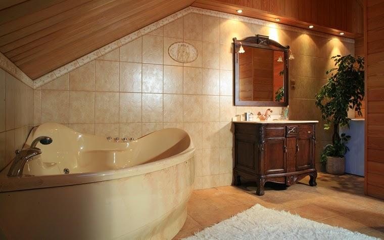 Corner bath features in the bathroom 8 designs for Bathroom interior design uk