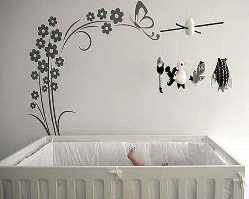 D coration murale chambre b b b b et d coration - Decoration murale bebe chambre ...