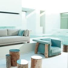Muebles hechos con troncos for Muebles con troncos