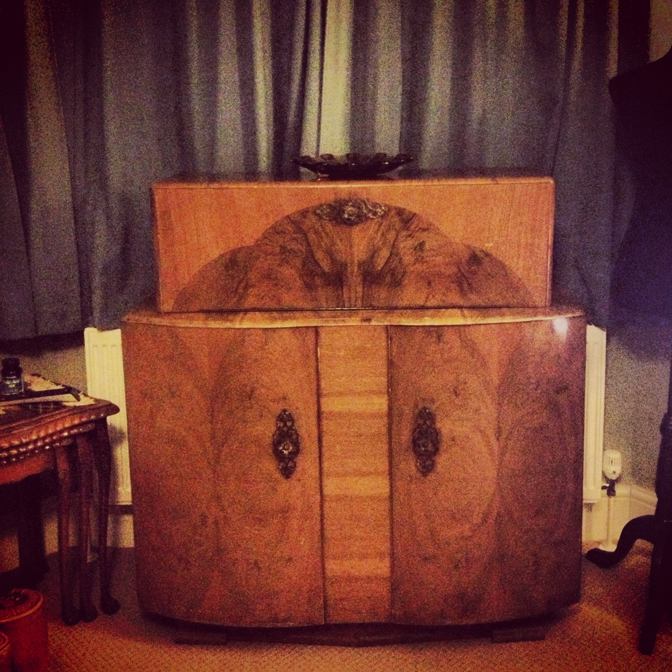 The vintage scientist vintage cocktail cabinet charity for Furniture charity shops