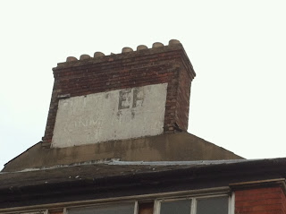 Ghost sign just off the Cowley Road, Oxford