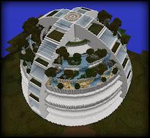 Minecraft Futuristic Buildings