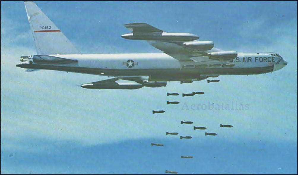 Resultado de imagen de Un bombardero B-52. vietnam