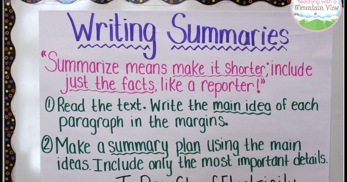 Reading Notebook Anchor Charts {Reading Literature}